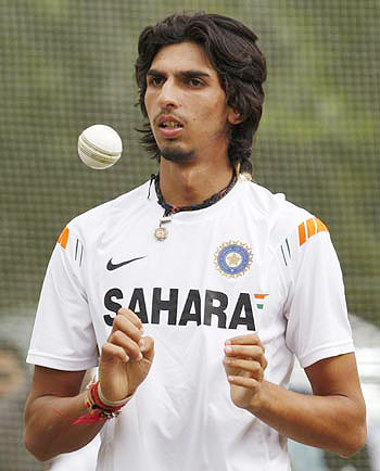 'Ishant Sharma can be a bowler in the Glenn McGrath mould'