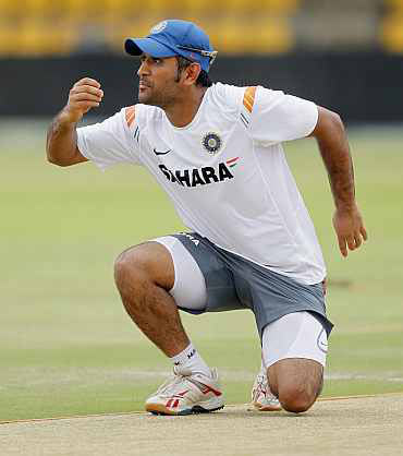 Dhoni gains a place in the batsmen list
