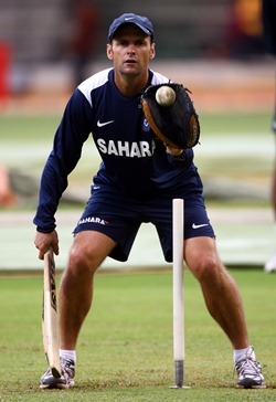 Gary Kirsten in India colours