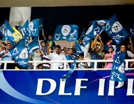 Spectators at the IPL
