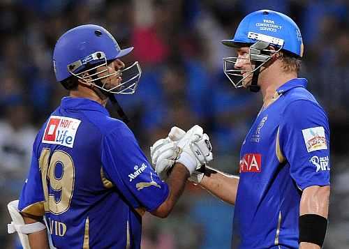 Rahul Dravid and Shane Watson