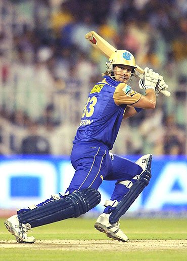 Rajasthan Royals' Shane Watson