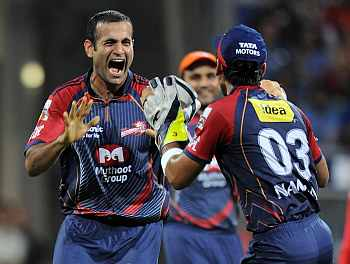 Delhi's bowlers hold the edge