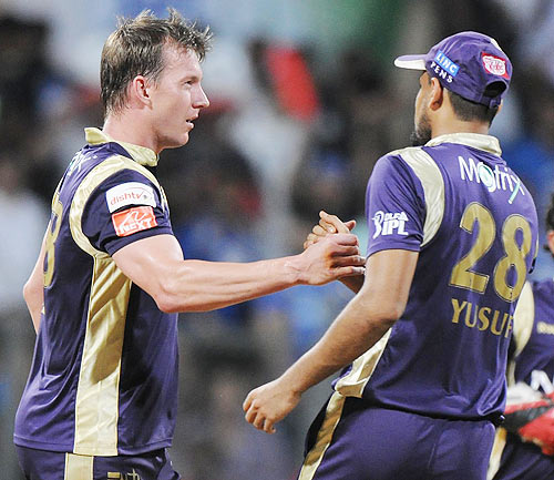 Will KKR retain their seamers?
