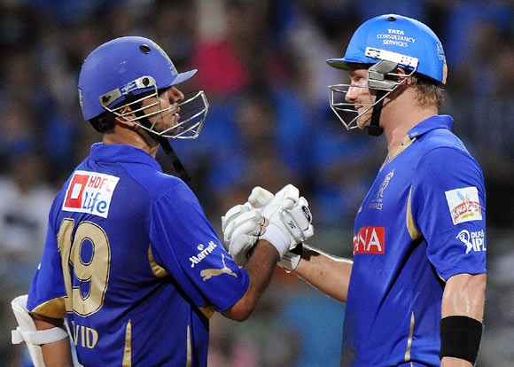 Royals will bank heavily on Dravid, Rahane