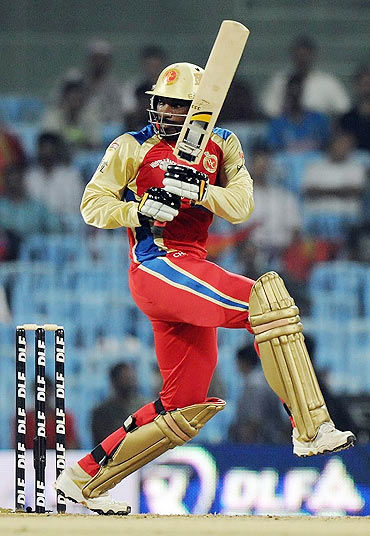 Gayle blows over after stamping mark on IPL V
