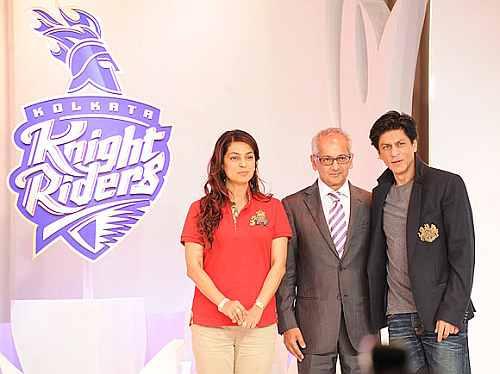 Shah Rukh Khan, Juhi Chawla and Jai Mehta
