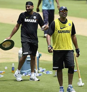 Harbhajan Singh and Yuvraj Singh