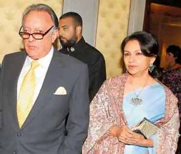 Sharmila Tagore with MK Pataudi