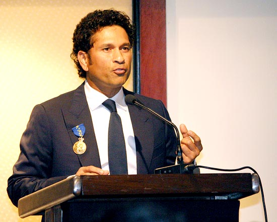 Tendulkar treasures meeting Sir Donald Bradman