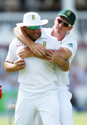 Graeme Smith with Jacques Kallis