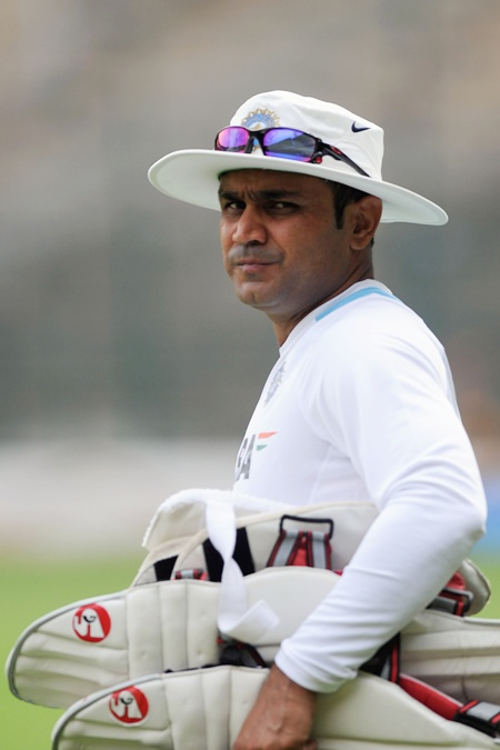 Sehwag will be the most unlikely entrant