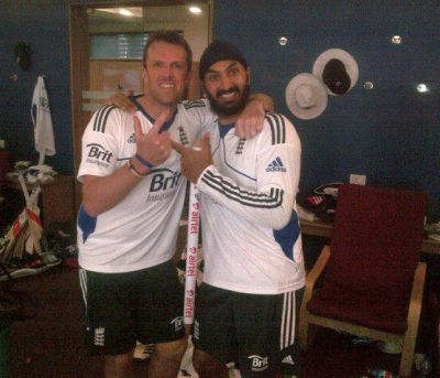 Graeme Swann and Monty Panesar