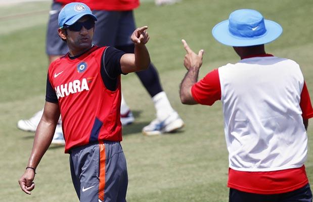 Gautam Gambhir (left) with Virender Sehwag