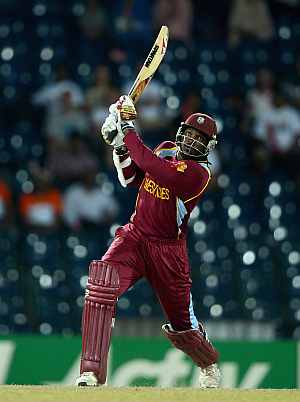Gayle takes West Indies to World T20 final