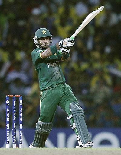 Pakistan's captain Mohammad Hafeez