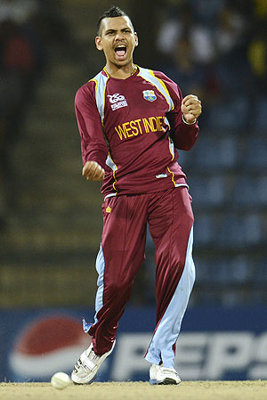 West Indies spinner Sunil Narine