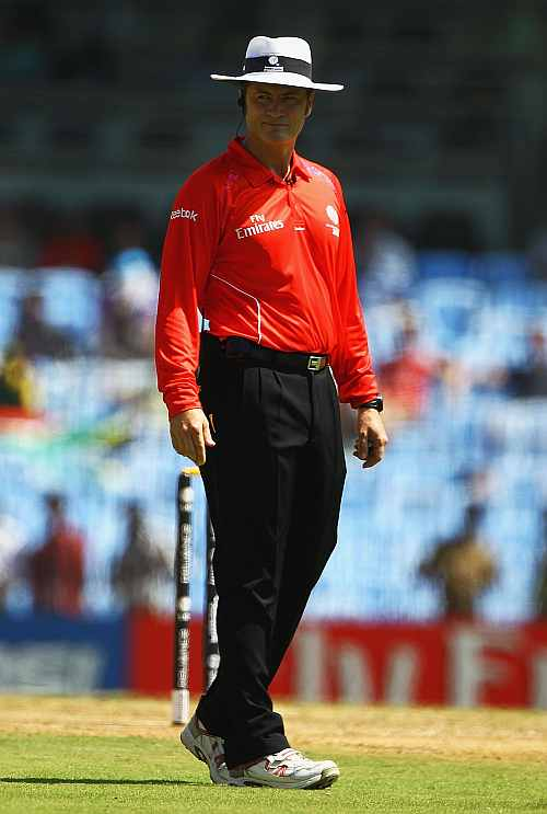 Umpiring in India-Pak WC semis was most exciting: Taufel