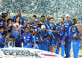 Mumbai Indian after winning the last edition of the Champions League T20