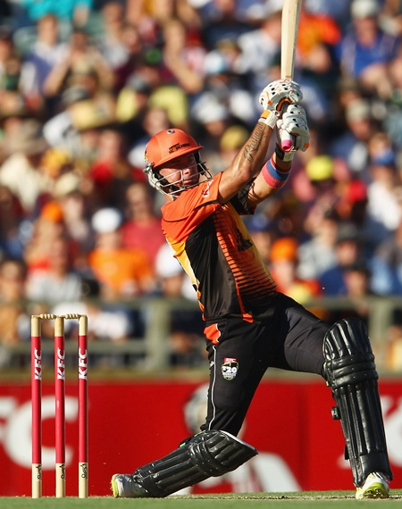Herschelle Gibbs of the Scorchers