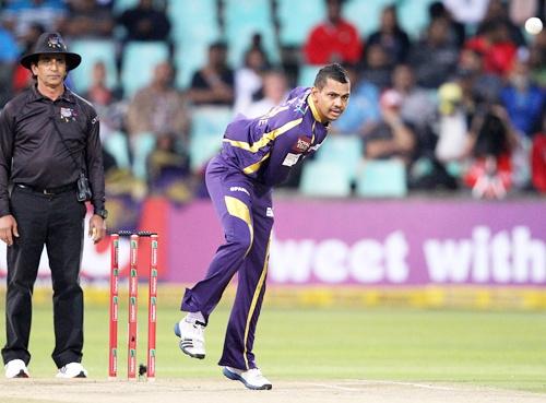 Narine has taken five wickets so far