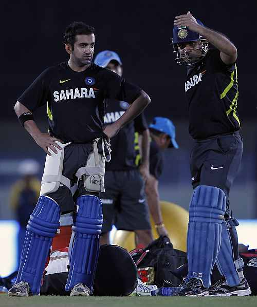 Gautam Gambhir and Virender Sehwag