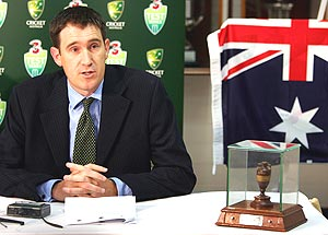 Cricket Australia chief James Sutherland