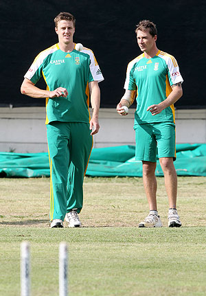 Morne Morkel and Dale Steyn