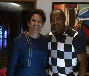 Sachin Tendulkar and Brian Lara