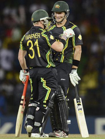 photos watson warner help australia thrash india