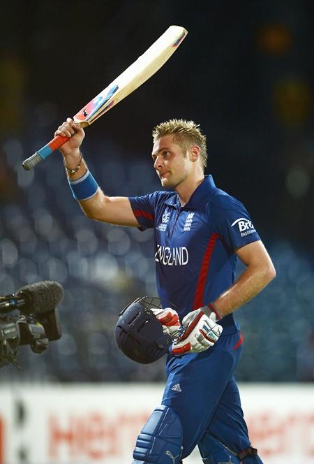 Luke Wright of England