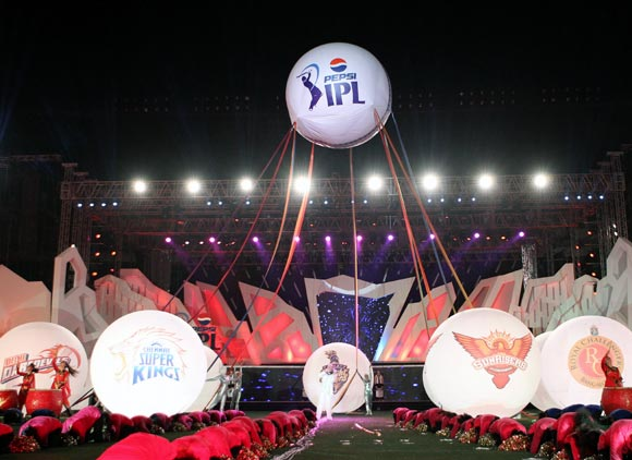Opening ceremony of IPL