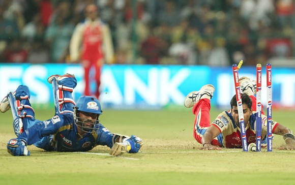 Karthik tried his best for Mumbai Indians