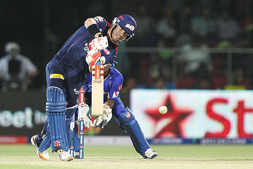 David Warner of Delhi Daredevils