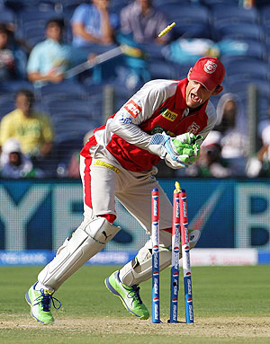 Rediff Cricket - Indian cricket - IPL: Gilchrist first 'keeper to complete 40 catches