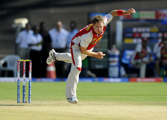 Ryan Harris of Kings XI