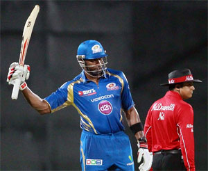 Rediff Cricket - Indian cricket - Stats: Pollard has struck most sixes for Mumbai