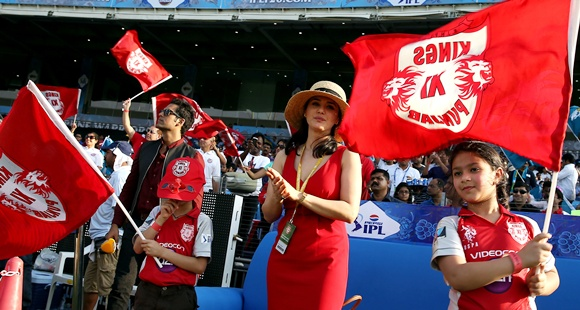 Is Preity Zinta the REAL cheergirl of Kings XI?