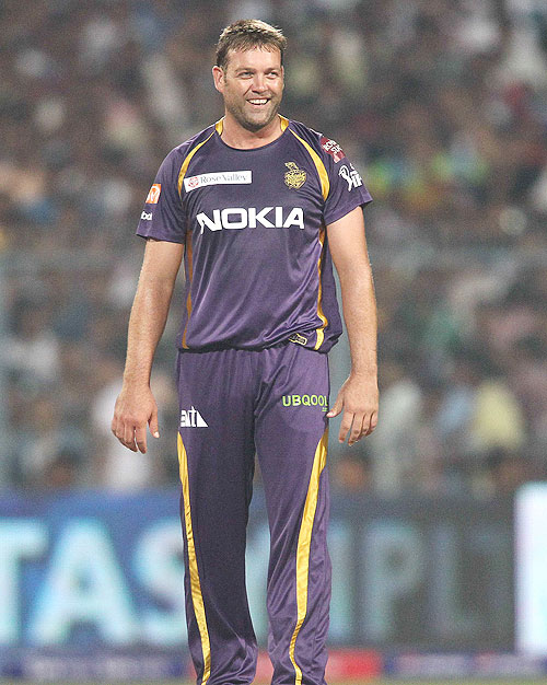 Jacques Kallis of the Kolkata Knight Riders