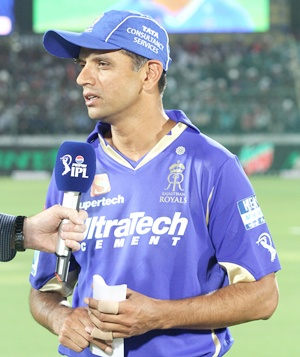 IPL: Dravid fined for slow over-rate