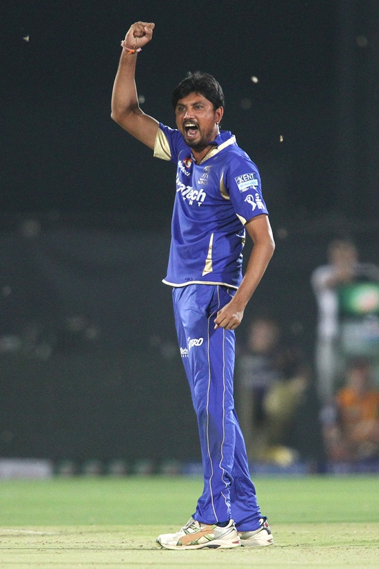RR vs KKR: Trivedi swings it Rajasthan's way