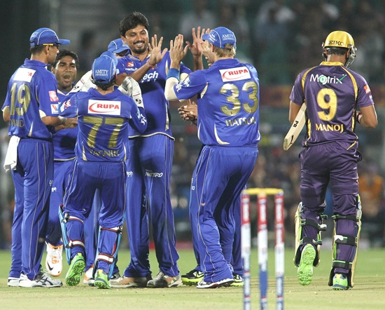 Royals have an upper hand over KKR in Jaipur