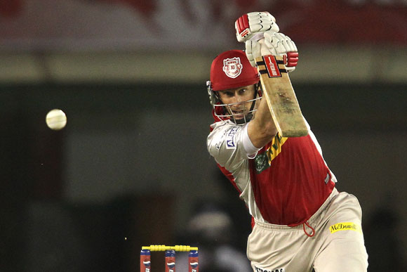David Hussey of Kings XI Punjab