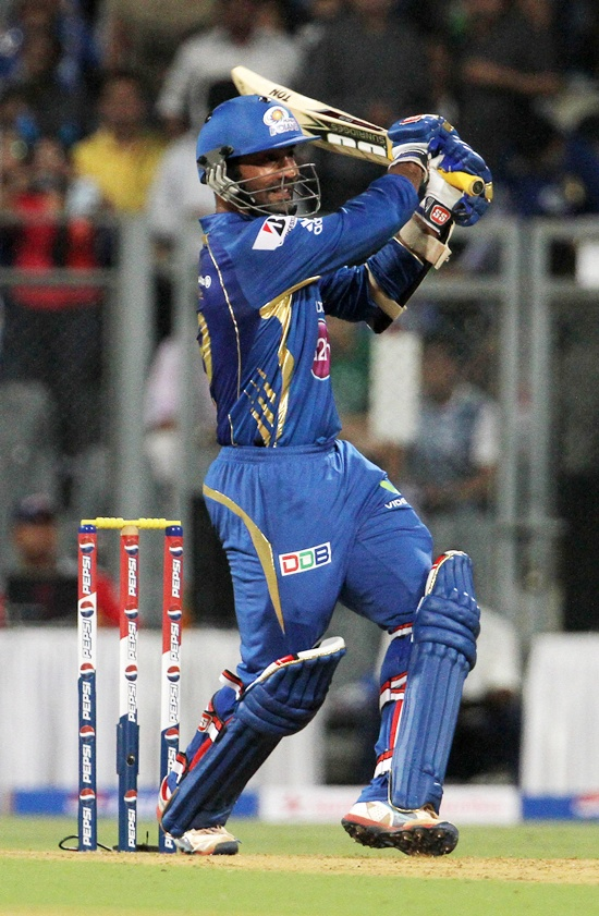 Dinesh Karthik has led the Mumbai Indians batting even as the likes of Ponting and Tendulkar have disappointed