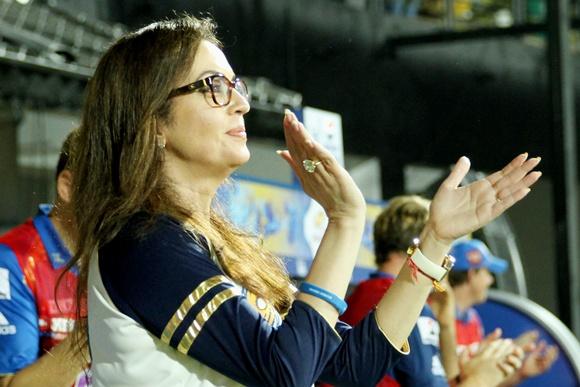 Mumbai Indians' most passionate supporter Nita Ambani!
