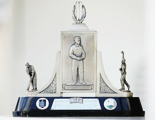 The Wisden Trophy on April 8, 2004