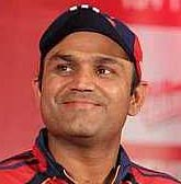 Sehwag bats in the nets, may play against Sunrisers