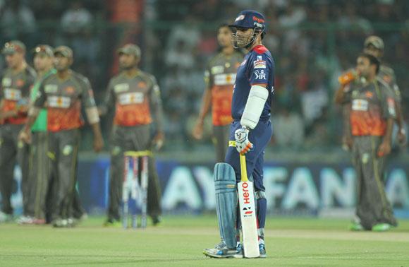 Delhi Daredevils player Virender Sehwa