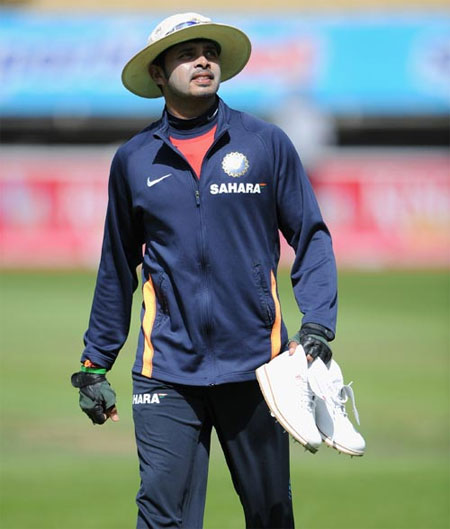 It's all gods grace: Sreesanth
