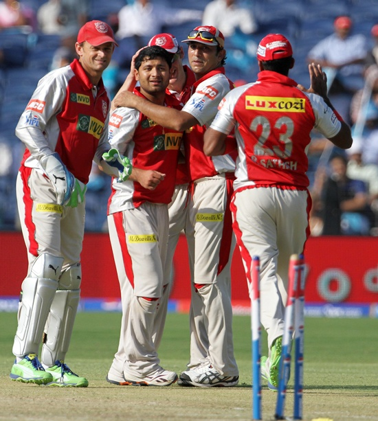 KXIP look to exploit home